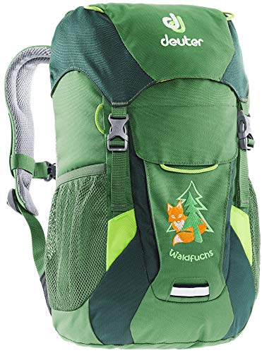 Deuter Unisex-Youth Waldfuchs Kinderrucksack, Leaf-Forest, 10
