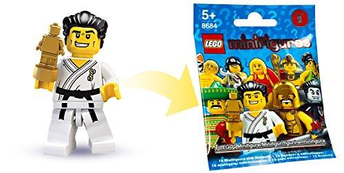 LEGO 8684 : Minifigur Karate Meister aus Sammelfiguren Serie 2