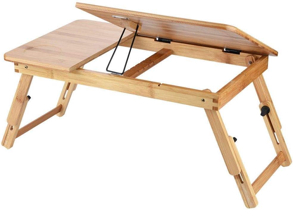 Ultra-Cheap OFFicial shop Deals Wooden Bamboo Laptop Desk Stand Ligh Foldable and