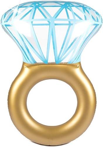 Diamantschwimmring Größer Aufblasbarer Verdickter Schwimmring Erwachsener Ringlebensring Sich Hin- Und Herbewegendes Sich Hin- Und Herbewegendes Bett Unterarmkreis