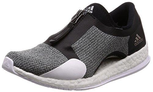 adidas Damen Pureboost X Tr Zip Fitnessschuhe, schwarz (Negbas/Plamet/Ftwbla), 40 EU