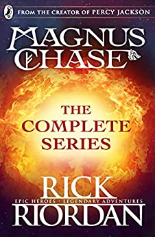 Magnus Chase: The Complete Series (Books 1, 2, 3) by [Rick Riordan]