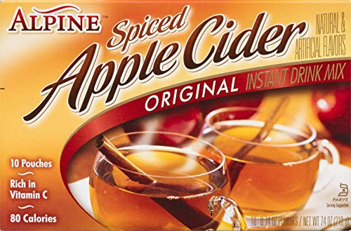 Alpine Spiced Cider Apple Flavor Original Drink Mix, 120 Pouches