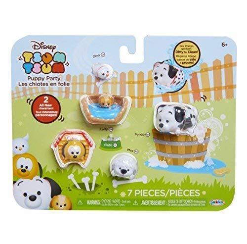 Tsum Tsum Puppy Party 7-pack