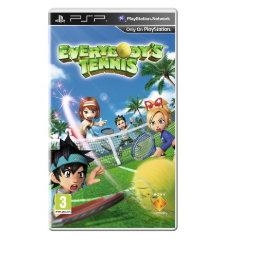 [UK-Import]Everybodys Tennis Game PSP