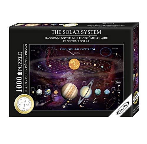 Das Sonnensystem Puzzle 1000 Teile - Garry Walton - 68 x 48 cm - hergestellt in Deutschland, spezielle Puzzlepappe