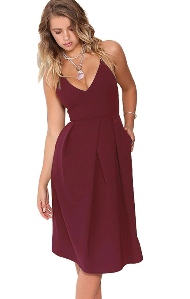 Wedding Guest Dresses - Women's Sexy Spaghetti Straps Slit Formal Long Bridesmaid Maxi Party Evening Dress Mermaid Prom Gown