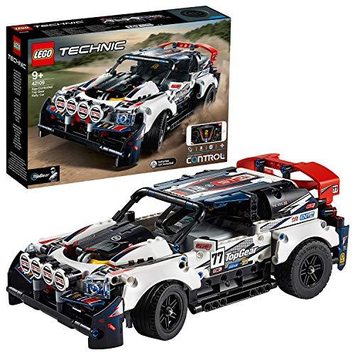 LEGO Technic - R-Car Auto da Rally Top Gear Telecomandata tramite l\'App CONTROL+, Alimentata da Smart Hub con Motore XL e L, Modello Azionato tramite un Dispositivo Intelligente con 3 Schermi, 42109