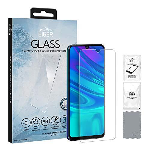 Eiger 3D GLASS Schutzfolie, transparent, Huawei P Smart (2019)
