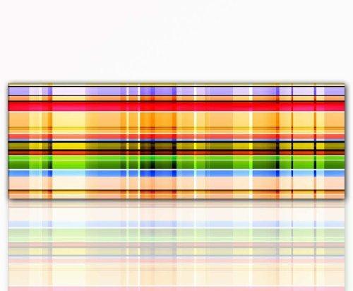 Jung et moderne encadré avec couleurs intenses!! format xxl motif \