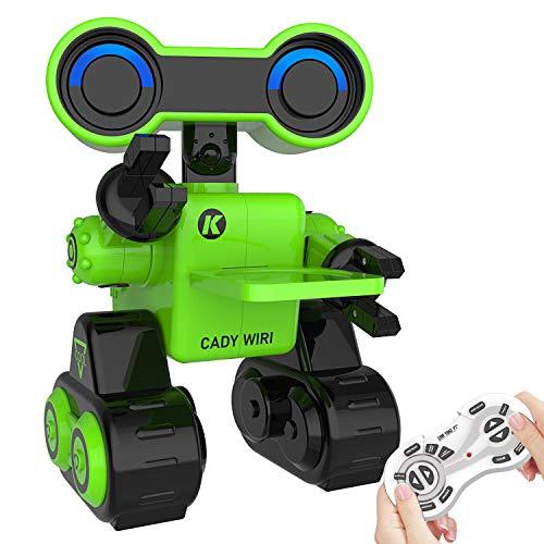 Ferngesteuertes Roboter Spielzeug für Kinder, Intelligente Programmierung RC Touch Sensor STEM Roboter mit LED-Licht, Funktion des Gehens, Singen, Tanzen für Unterhaltung Kindergeschenk