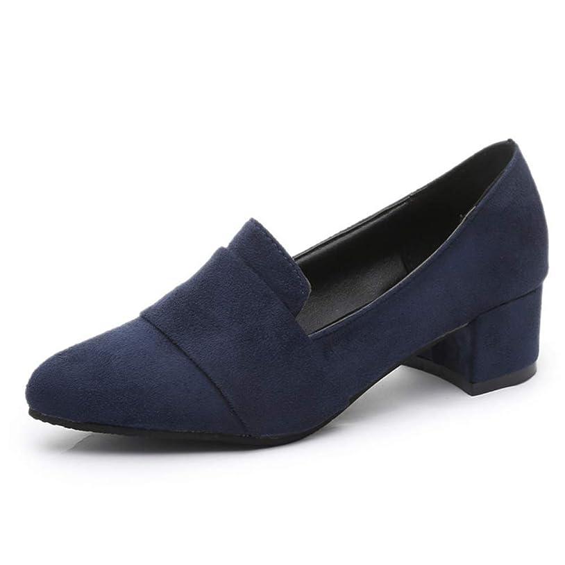 発信報復する忌まわしい[エアバイ] スエード パンプス 靴 シンプル 履きやすい 通勤 通学 OL 美脚 レディース