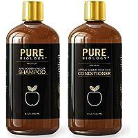 Pure Biology Premium Apple Cider Vinegar Shampoo & Conditioner Set
