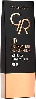 Golden Rose Hd Foundation, No.104