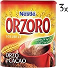 3 Nestle Orzoro e Cacao Instant Barley & Chocolate Drink Beverage 180g Coffee Substitute!