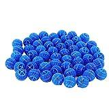 Atyhao Marineland Bio-Filter Balls, Material de filtración para acuarios, Bolas de Medios de Filtro biológico, 500 ml, Agua de mar de Agua Dulce Reutilizable para Estanque de Peces de Acuario