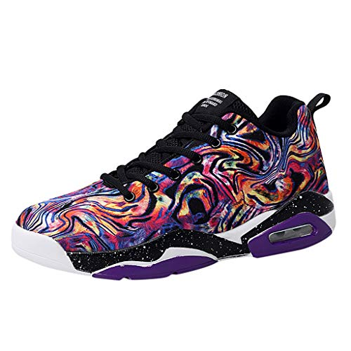 Read About Men Women Couple High Top Sneakers Outdoor Mesh Lace Up Sneakers Casual Sports Shoes Run ...
