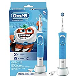Best Kids Electric Toothbrush For 2 Year Old Toddlers To 12 Years Children