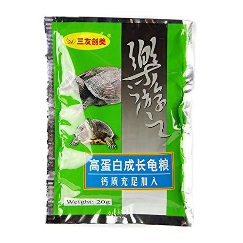 Fuwahahah 20 g hoog eiwit Spirulina tarwe soja Aquarium schildpad voedsel verbeteren immuniteit gezonde heerlijke voeding thuis vis tank levering