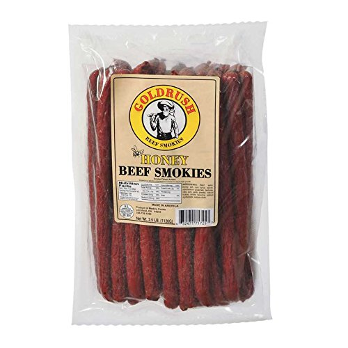 Gold Rush Honey Meat Sticks 2.5 Regular store Lb. Smokies Ranking TOP20