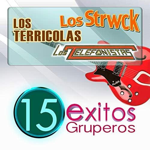 Los Terricolas, Los Telefonistas & Los Strwck
