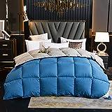 Goodlife-1 Sommer Bettdecke 95 White Goose Daunendecke Klimatisierung Doppelbettdecke Komfort Fühlt Sich warm an Antiallergie Winter Warme Bettdecke-EIN_180x220cm - 2kg