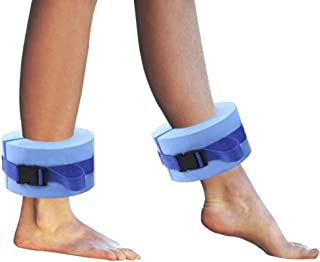 ZEYU SPORTS Swimming Band Training Aid Ankle Float Leg or Arm, Set of 2