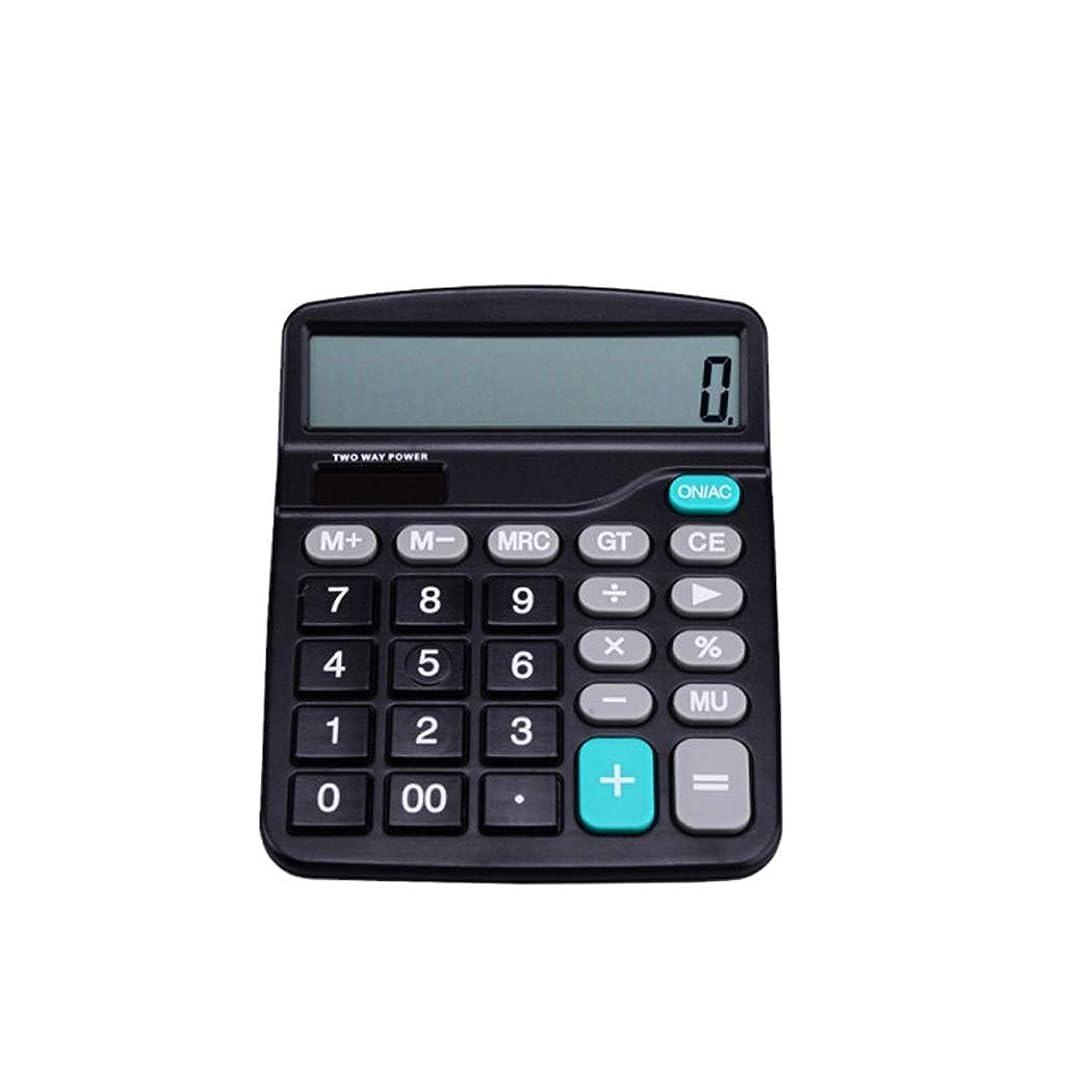 顕著アンケートジャム電卓オフィスビジネス多機能ソーラー大画面ディスプレイ大型ボタンポータブル小型電卓