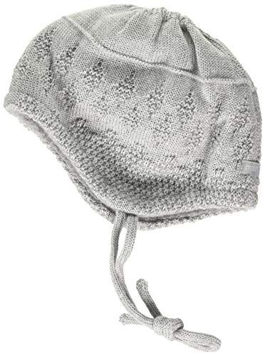 maximo Baby-Mädchen Band Beanie-Mütze, Graumeliert, 43