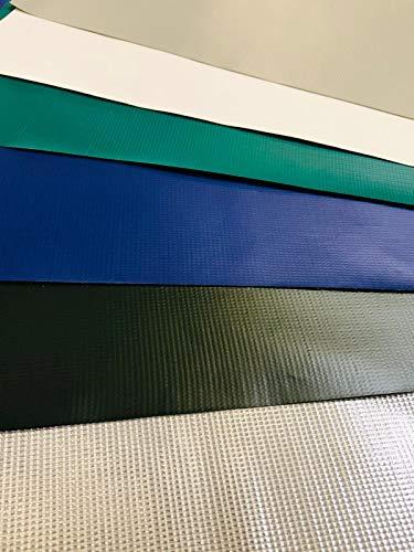 Abdeckplane 400g/m², PVC Plane, Schutzplane, 100% wasserdicht, hohe UV Beständigkeit, reißfest, witterungsbeständig (3,20 m x 2,00 m, Weiß)