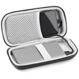 Compatible with Mi Power Bank Case, KASMOTION Hard EVA Travel Carrying Case Protective Storage Bag for Mi Power Bank Pro 10000mAh Portable Charger