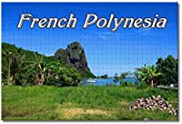 フランス領ポリネシアマウピティジグソーパズル大人用子供1000ピース木製パズルゲームギフト用家の装飾特別な旅行のお土産