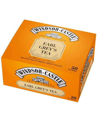Windsor-Castle Earl Grey's Tea, Beutel mit Umhüllung, 50er, 100 g