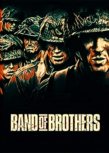 empty Band of Brothers Fine Art Wall Poster Sticker Frameless 60cm X 90cm(24X36 Inch)