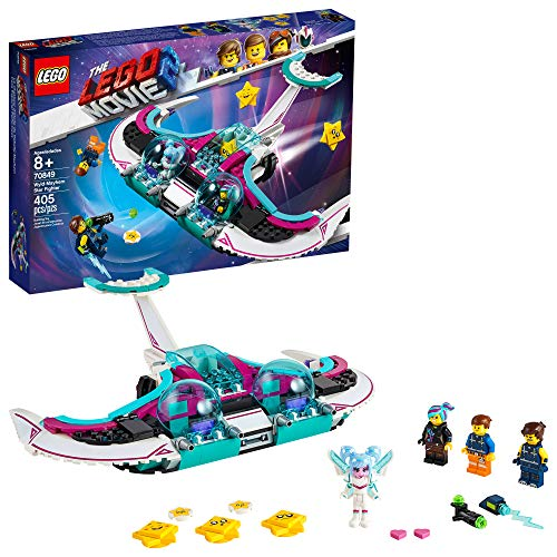 LEGO THE LEGO MOVIE 2 Wyld-Mayhem Star Fighter 70849 Building Kit (404 Pieces)