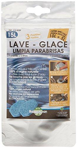 SuperClean 215503R Pastilles de Lave Glace, 1 Sachet de 3 pastilles