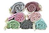 Diamond Pattern Turkish Towel,40'x70',Turkey Towel,Beach...