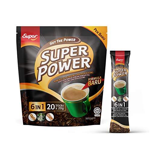 SUPER Power 6in1 Tongkat Ali Ginseng Dan Misai Kucing