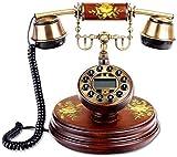 SXRDZ Teléfono de Estilo Retro Antiguo, Estilo Europeo, Distrito [Retro], Teléfono, A-Cable Home Desk Decor Ornament