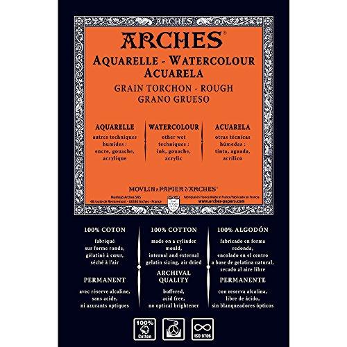 Unbekannt Arches 1710266Acuarela Papel, Madera, Color Blanco, 130x 914x 1cm