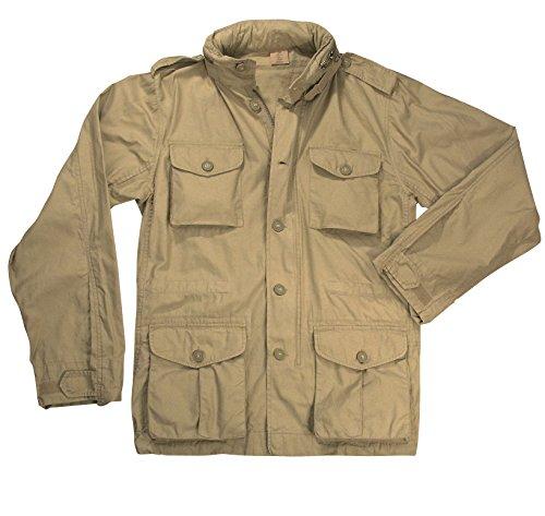 Rothco Vintage Lightweight M-65 Field Jacket, Khaki, XL