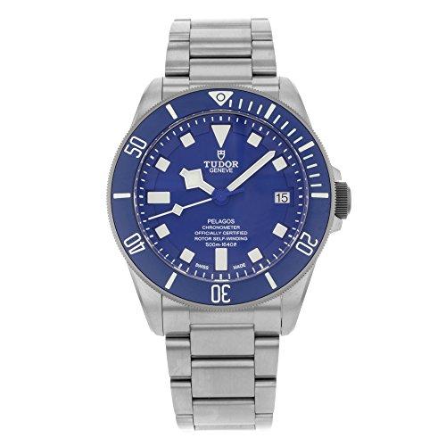 Tudor Pelagos 25600TB-BLRS - Reloj de hombre con esfera azul