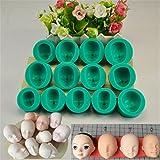 Nikgic Baby Gesicht Form Kuchenform Antihaft-Schokolade Pudding Muffin Form Ausstecher Für Kinder DIY Backenwerkzeuge
