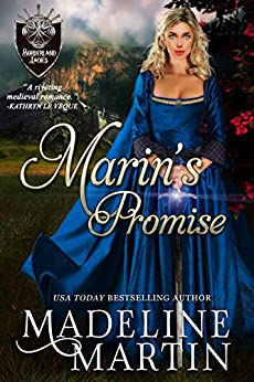 Marin's Promise: A Scottish Medieval Romance (Borderland Ladies Book 1) by [Madeline Martin]