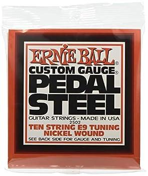 Ernie Ball Pedal Steel Nickel Wound 10-String Set E9 Tuning