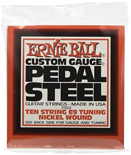 Ernie Ball Pedal Steel 10 cuerdas E9 Tuning Nickel Wound Guitarras eléctricas...