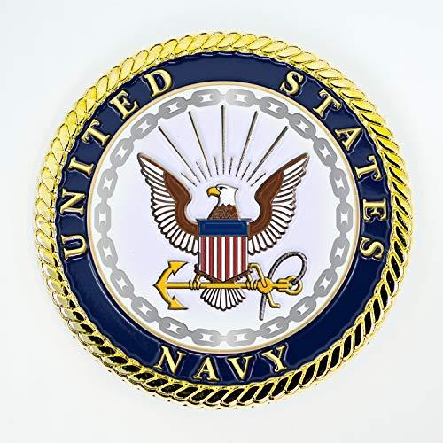 Navy Medallion – 2 Inch USN Medal – U.S. Navy Seal Emblem - Navy Gifts