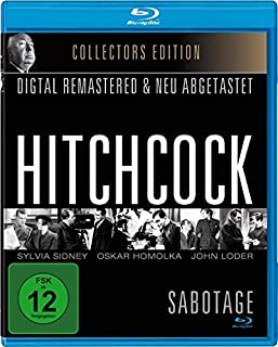 Alfred Hitchcock: Sabotage (Blu-ray) [Collector's Edition]