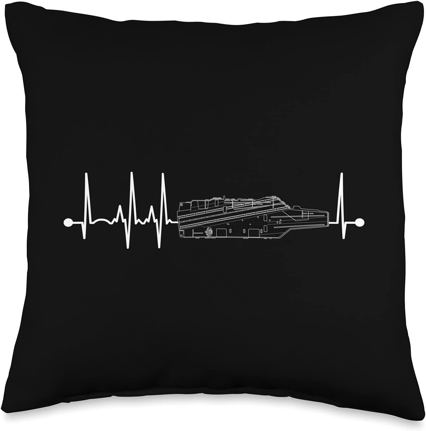 The Salty Veteran Aircraft Soldering Carrier EKG Heartbeat Pulse Navy Regular store Mili