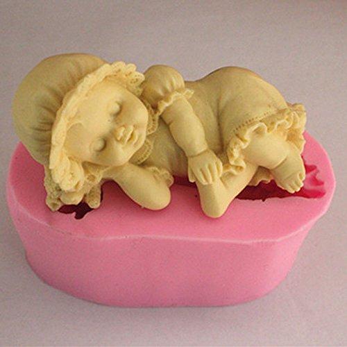 Baby Seife Schimmel Diy Seife Formen handgemachte Silikon Süßigkeiten Handwerk Formen (N346)